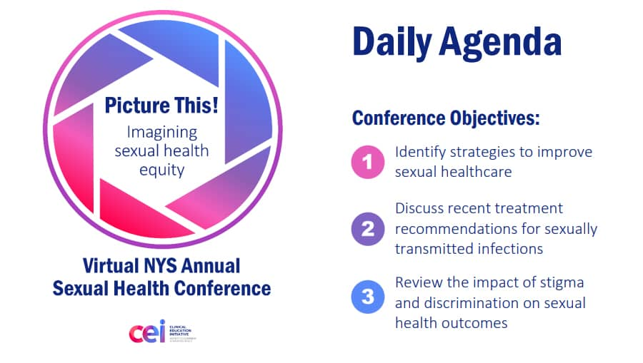 2020 Virtual NYS Annual Sexual Health Conference Flyer